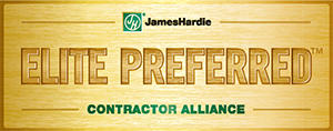 James Hardie Siding Certified Elite Contractor